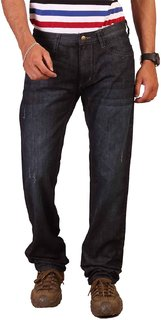 Lee Blue Slim Fit Mid Rise Mens Jeans