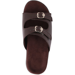 Dab WomenS Brown Flatfoot Slipper