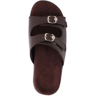 Dab WomenS Brown Flatfoot Slipper