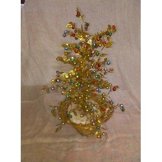 parveen handicraft Hand made golden tree