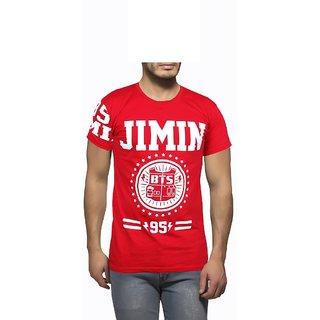 Getzen Mens Cotton Tshirt(AT-0086-1Red)