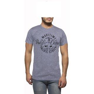 Getzen Mens Cotton Tshirt(AT-0182-1 Grey)