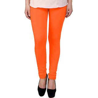Kairaa Orange Ankle Length Legging