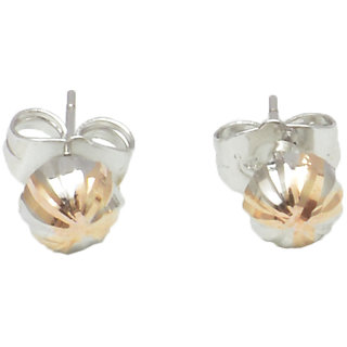 Reva Silver Alloy Fashion Stud Earring