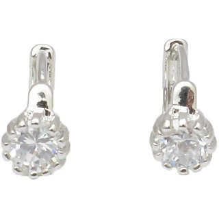 Reva Silver Alloy Fashion Clip On Earring