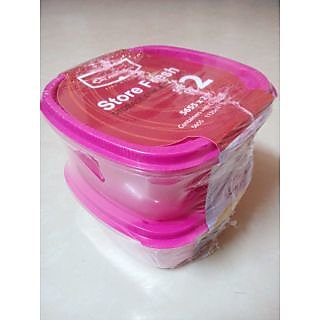 Princeware store fresh storage Container Set of 2 X 1125 ml Each