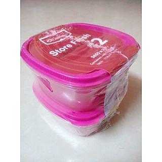 Princeware store fresh storage Container Set of 2 X 1125 ml Each