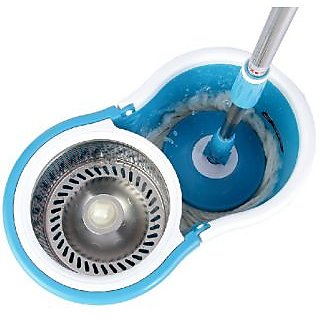 Steel Spin Mop / Magic Mop Steel/ House Cleaning Mop Multicolor
