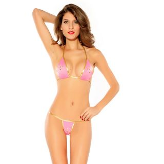 AAYAN BABY Heated Mirrors Bikini Set