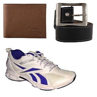 Reebok Men's White Sports Shoes (Combo)
