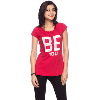 Round Neck Be You T-Shirt