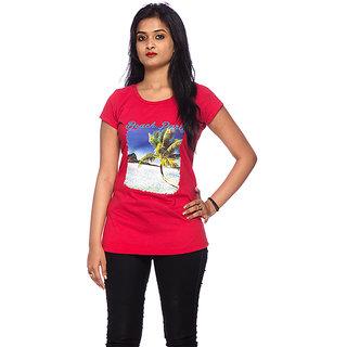 Round Neck Beach Party T-Shirt