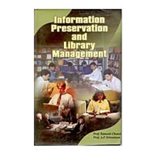Information Preservation And Library Mangement