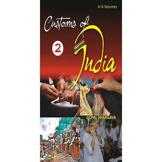 Customs of India (Southern Andhra Pradesh, Karnataka, Kerala, Tamil Nadu, Lakshdweep, Andaman  Nicobar And Pondicherry), Vol. 1St