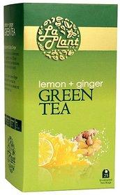 LaPlant Lemon  Ginger Green Tea - 25 Tea Bags