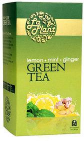 LaPlant Lemon, Mint  Ginger Green Tea - 25 Tea Bags