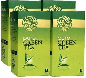 LaPlant Pure Green Tea - 100 Tea Bags (Pack of 4)