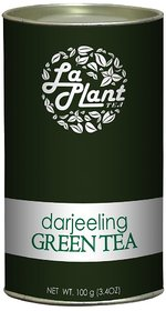 LaPlant Darjeeling Green Tea, Long Leaf - 100 gm