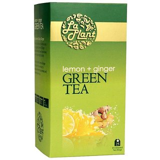 LaPlant Lemon  Ginger Green Tea - 25 Tea Bags