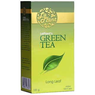 LaPlant Green Tea, Long Leaf - 100 gm