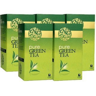 LaPlant Pure Green Tea - 125 Tea Bags (Pack of 5)