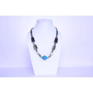 The Roots Brown Resin Necklace for Women (Root-0050)