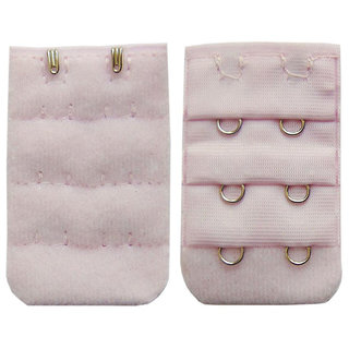 AAYAN BABY Light Pink 2 Hook Bra Strap Extender (Pack of 1)