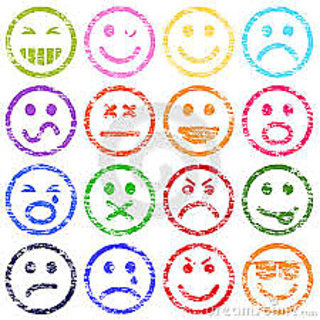 Smiley Stamp set ( 16 different smiley shapes )