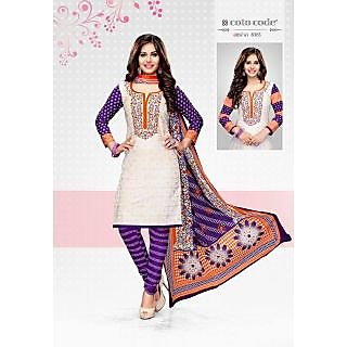 Cotocode fancy Cotton Unstitched Salwar Suit Dress Material JTCCV14-8365