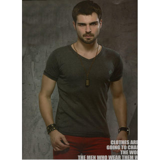 stylish slim fit T-Shirt in cotton size 36