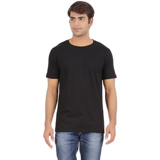 Shiblu Garments Mens Round Neck T-Shirt (Black)