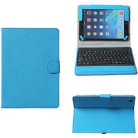 Callmate Bluetooth Keyboard With Detachable Cover For Ipad Air With Stylus  Screen Guard-Sky Blue