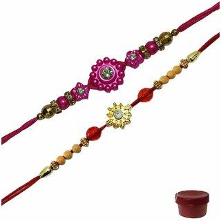 Laviva ROB15585 Delightful Bonanza of Rakhi
