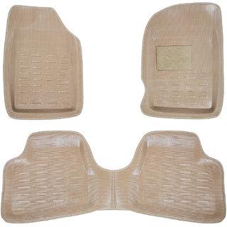 Autofit Plastic Car Mat For Honda Amaze (Beige)