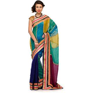 Multi Bhagalpuri Saree