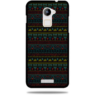 Cool Mango Printed Pudding TPU Back cover for CoolPad Note 3 Lite - Flexible Protection Case for Cool Pad Note 3 Lite (Mystic Aztec Pattern)