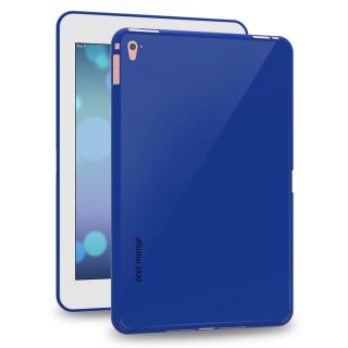 Cool Mango FlexiGel Back Cover for Apple iPad Pro 9.7 inch - Slim Fit Flexible, Glossy and Luxurious Back case for Apple 9.7 I Pad Pro - Precise Fit  Essential Device Protection (Cobalt Blue)