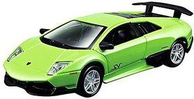 Maisto Maisto Power Kruzerz 4.5 Pull Back Action - Murcielago LP 670-4 SV Diecast Car (Green)
