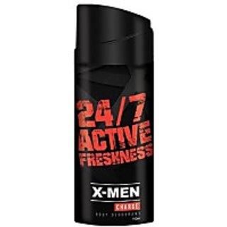 X-MEN Charge (Set of 2) Deodorant Spray - For Men, Boys (150 ml each)