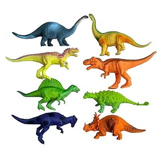 Wild Republic Polybag Dinosaur Assorted Big 8Pcs