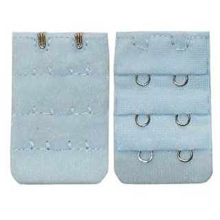 AAYAN BABY Light Blue Combo 2 Hook Bra Strap Extender (Pack of 2)