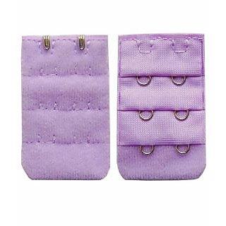 AAYAN BABY Light Purple Combo 2 Hook Bra Strap Extender (Pack of 2)