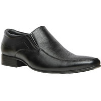 Bata MenS Class Black Formal Slip On Shoes