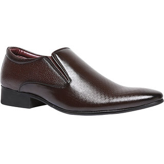 Bata MenS Barry Brown Formal Slip On Shoes