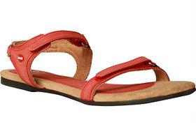 Dr. Scholls WomenS Ozan Red Sandals