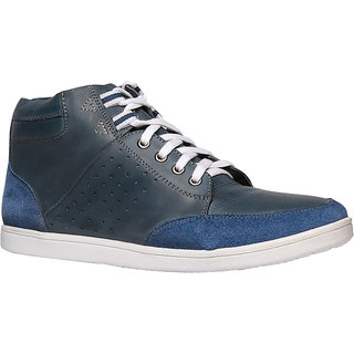 Bata MenS Lil Wayne Blue Casual Lace Up Shoes