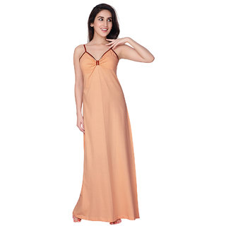 Buy Honeydew Peach Cotton Self Design Nighty Online   ₹425 from ... 23742691c