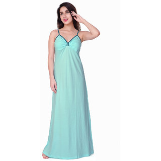 Buy Honeydew Light Green Cotton Self Design Nighty Online   ₹425 ... 7e26dded0