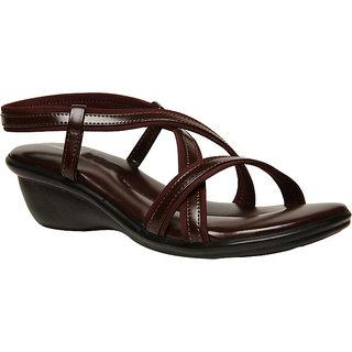 Buy Bata Women S Brown Sandals Online Get 16 Off