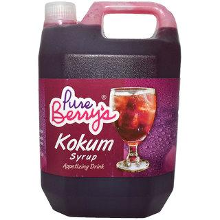 Pure Berrys Kokum Syrup 1 Ltr